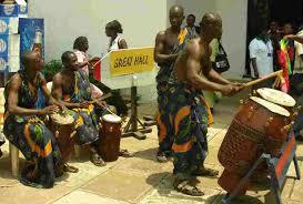 ghana drumming