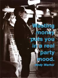 andy warhol quote posters