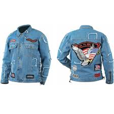 motorcycle jacket patches