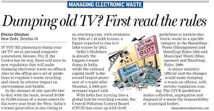 electronics waste management