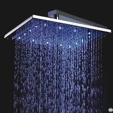 led rain shower