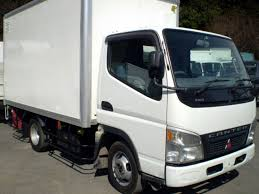 mitsubishi box trucks