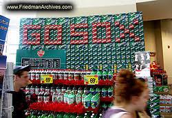 soda boxes