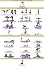 hot yoga postures