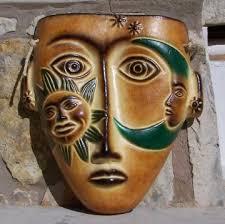 pottery masks