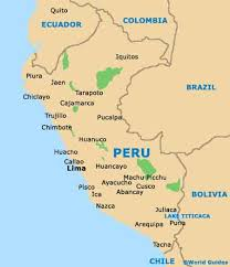 map of trujillo peru