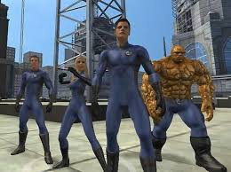 fantastic four the game