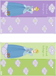 disney princess bookmarks