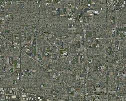 map aerial photo