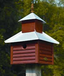metal bird houses