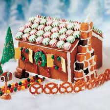 edible gingerbread houses