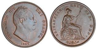 1837 penny