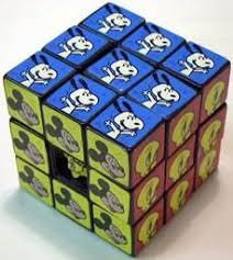 cartoon cubes