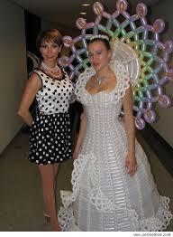 weird wedding dress
