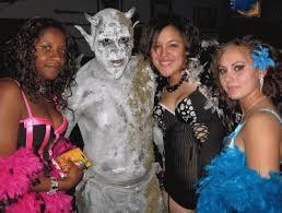 liquid latex costume