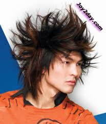 mens highlights hair