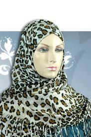 leopard skin scarf