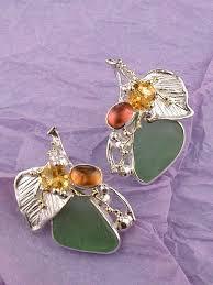 glass art jewelry