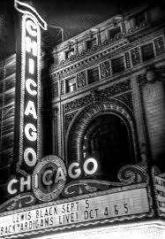 black and white chicago pictures