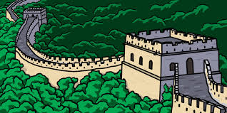 great wall of china clip art