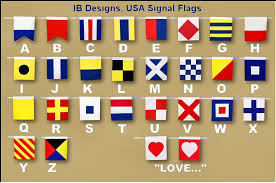 international alphabet flags