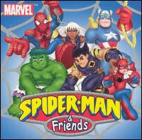 spiderman and friends