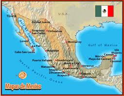 mapas satelitales de mexico