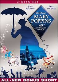 mary poppins dvds