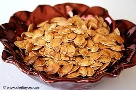 roasted pumpkins seeds