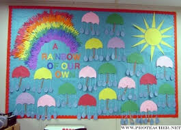 kindergarten bulletin board