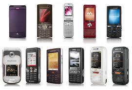 all sony ericsson phones