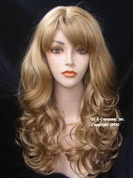 dark blonde wigs