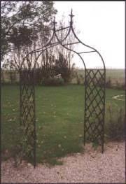 iron garden arch