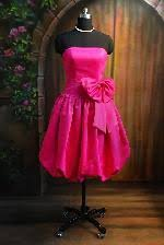pink semi formal dresses