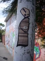 graffiti sticker art