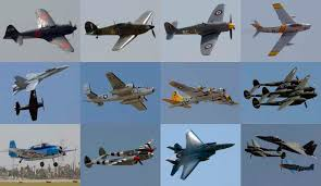 vintage warplanes