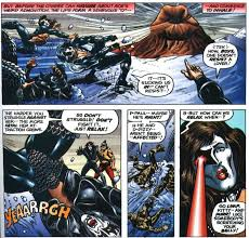kiss marvel comic