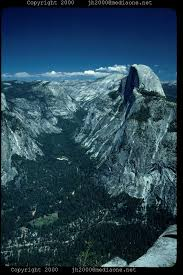 half dome mountain