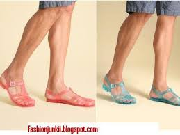 jelly shoes for men