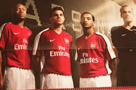 new arsenal home shirt