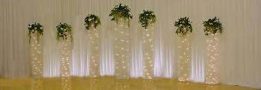 lighted wedding arch