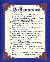 10 commandments of god