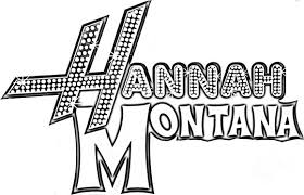 hannah montana printable coloring sheets