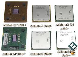 processors athlon