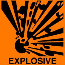 explosive label