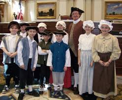 colonial day dresses