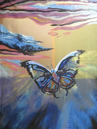 painting of butterfly