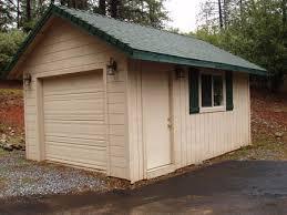 freestanding garage