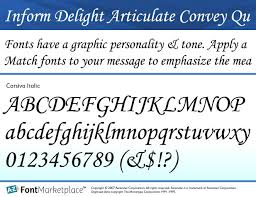 certificate fonts