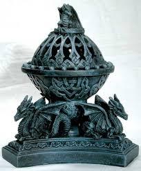 dragon incense burners